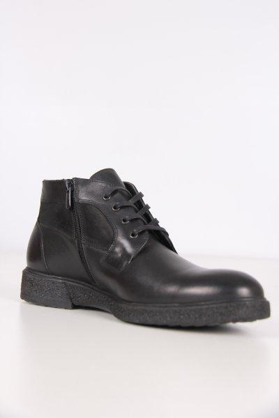 5994d Pierre Cardin Siyah Nubuk Ayakkabı