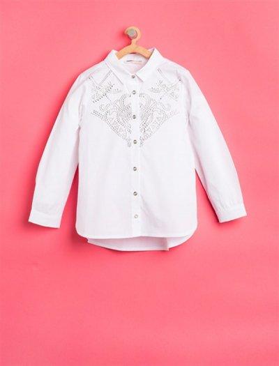 8kkg67495ow Koton Beyaz Bluz