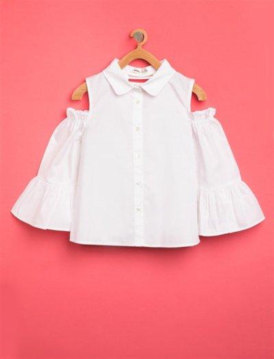 8ykg67795gw Koton Çocuk Gömlek Beyaz