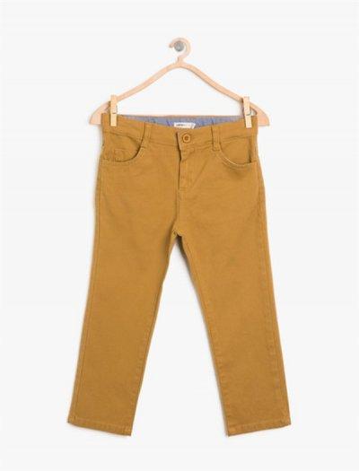 8kkb46605ow Koton Çocuk Pantolon Camel
