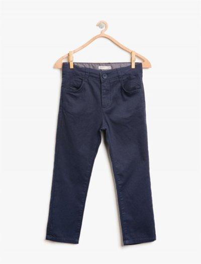 8kkb46046tw Koton Lacivert Pantolon