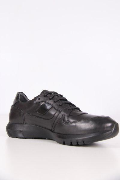 C8904c Cacharel Siyah Antik Ayakkabı