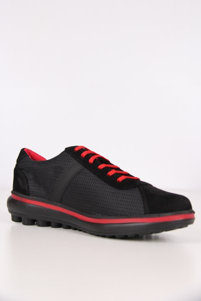 8302h Pierre Cardin Siyah Ayakkabı