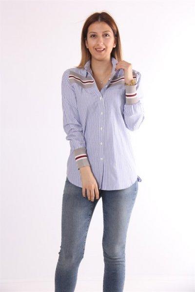 Koton Kol Ve Yaka Detaylı Gömlek 9kal69039ow