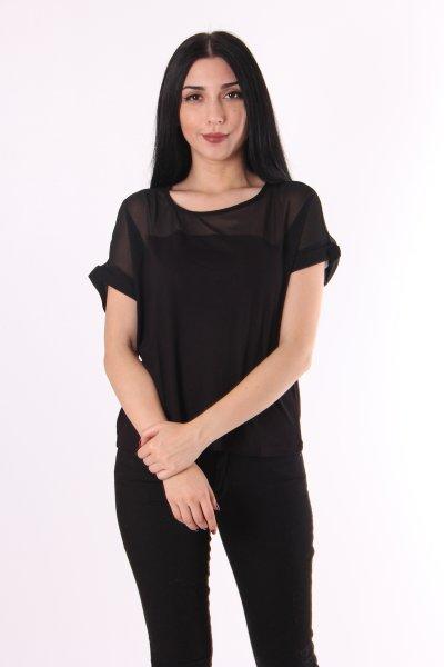 Koton File Detaylı T-shirt 9kak13483ok