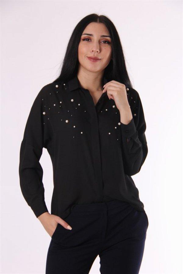 Koton İnci İşlemeli Gömlek 9kak63843ew