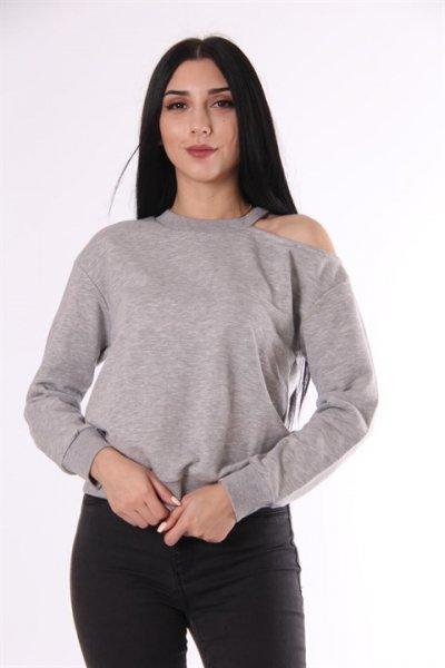 Omuz Detaylı Sweatshirt 17203