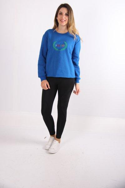 Koton Yazılı Baskılı Sweatshirt 9kal11236ok