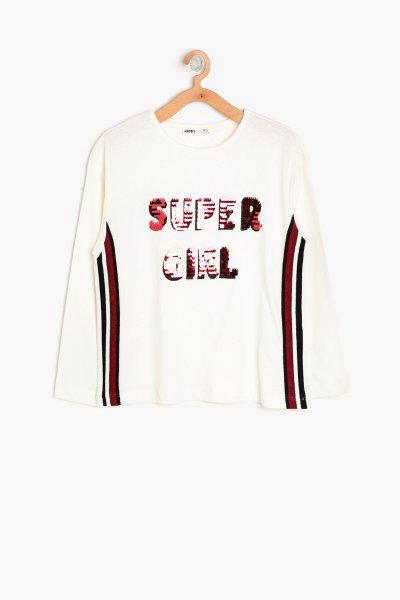 Koton Pul Detaylı T-shirt 9kkg17745ok