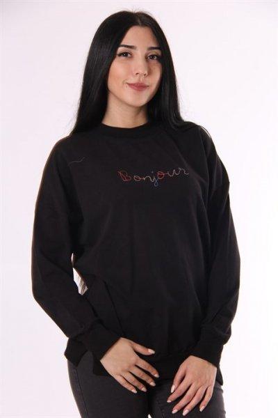 Bonjour Nakışlı Sweatshirt 5623