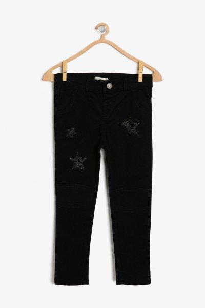 9kkg47527ow Koton Siyah Pantolon