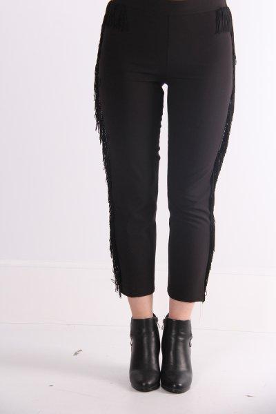 9kaf40280gw Koton Siyah Pantolon