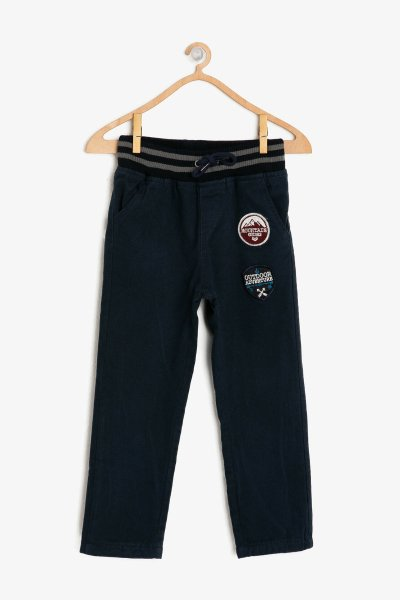 9kkb46743ow Koton Lacivert Pantolon