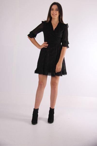 Koton Fırfırlı Elbise 9kak84439fw