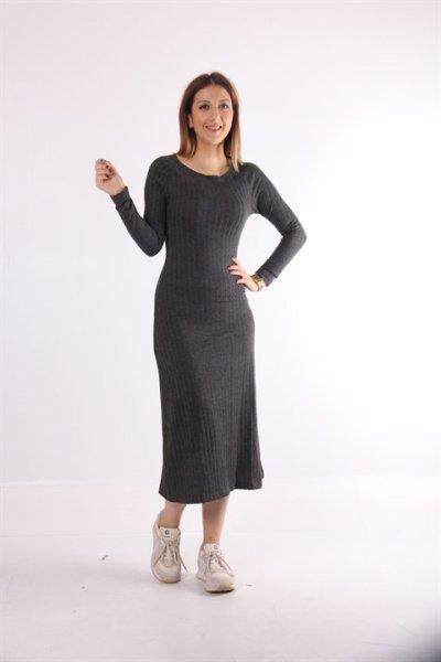 Uzun Elbise 23053