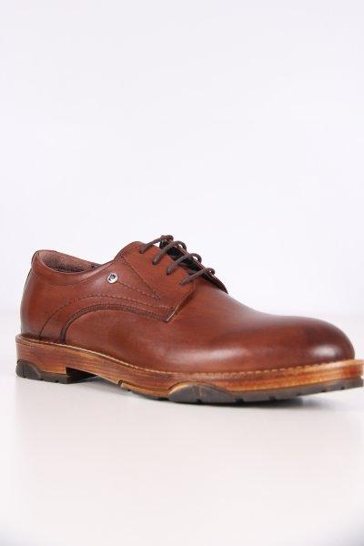 P63166 Pıerre Cardın Eva Kahve Silme Antik Ayakkabı
