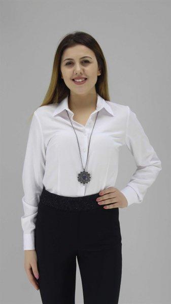 8yak62448yw Koton Gömlek Beyaz