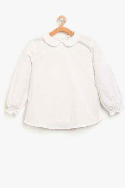 8ykg67786aw Koton Çocuk Bluz Beyaz