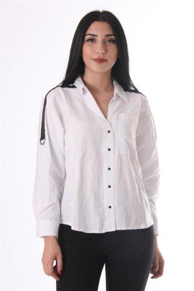 Omuz Detaylı Gömlek 9220