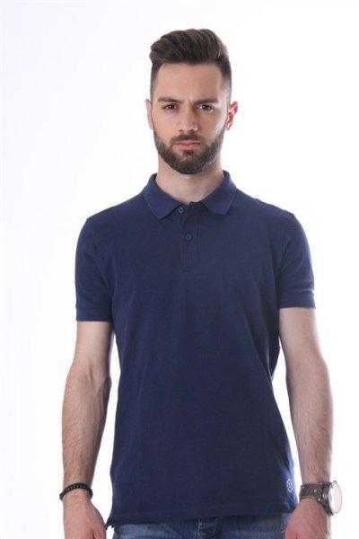 Loft Polo Yaka T-shirt Navy Lf 021171