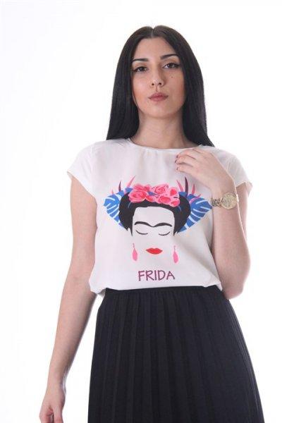 Frida Baskılı T-shirt - 18388