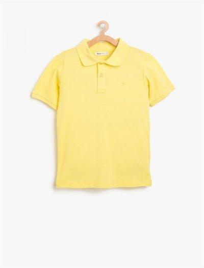 8ykb18230ok Koton Çocuk Tshırt Sarı