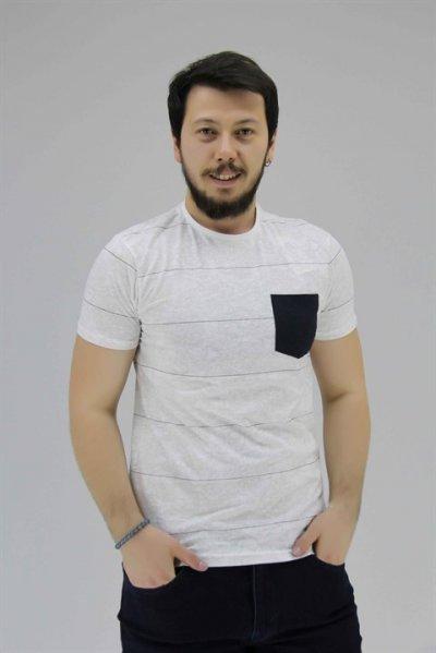 8yam14062ok Koton Beyaz Tişört