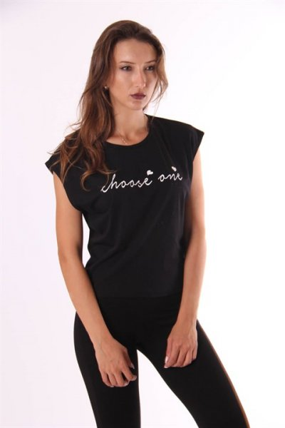 Choos One Baskılı T-shirt 22713