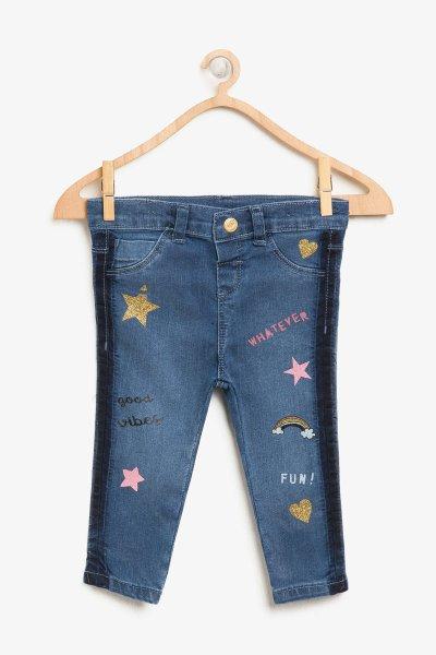 8ymg49219od Koton Çocuk Lacivert Pantolon
