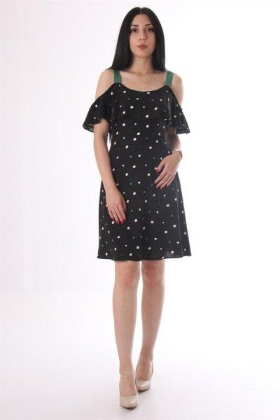 Koton Puantiye Detaylı Elbise 8yaf80442fw