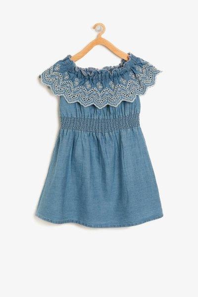Koton Dantel Detaylı Elbise 8ykg87942ow