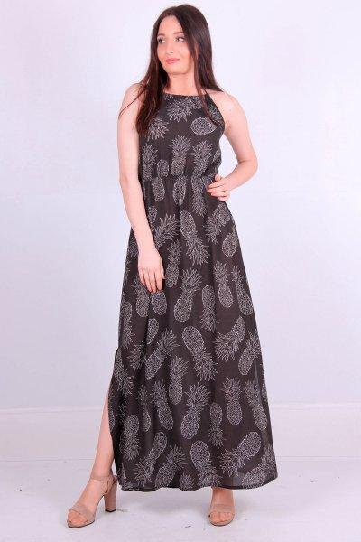 6055 Dıe&more Boyundan Bağlamalı Elbise