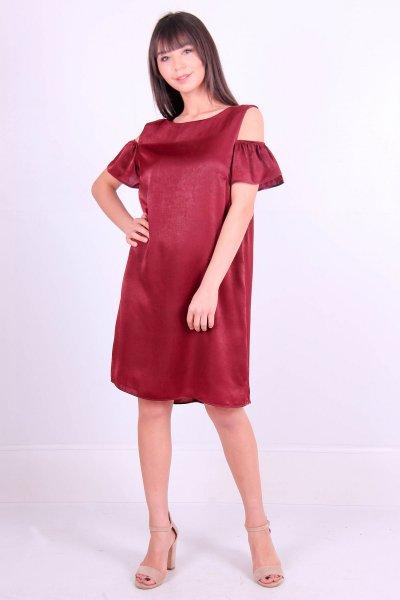 Omuz Detaylı Elbise 1026