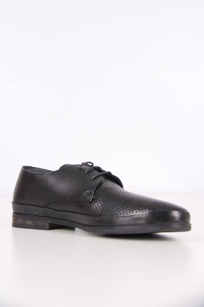 P3553d Pierre Cardin Siyah Antik Ayakkabı