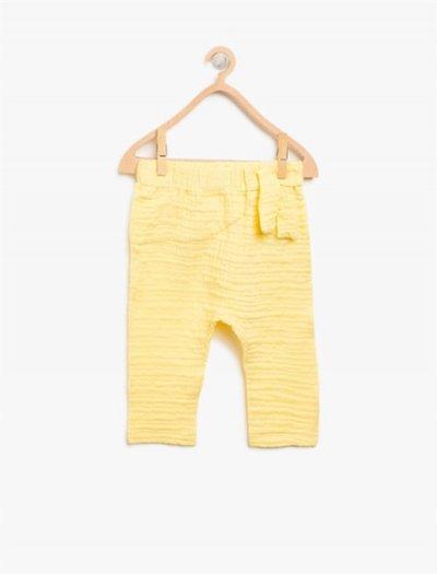 8ymg49179zw Koton Çocuk Pantolon Sarı