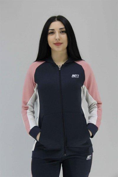 01825 New Brand Kadın Kapüşonlu Ceket