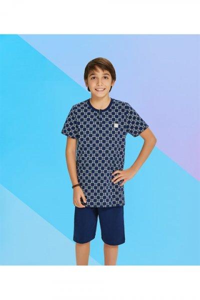 Rolypoly Erkek Bermuda Pijama Takımı Rp2225-v2