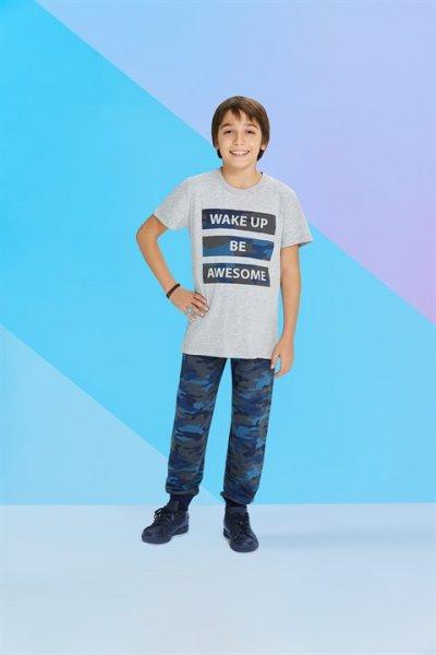 Rolypoly Kısa Kollu Erkek Çocuk Pijama Takımı Rp1207-1-v1