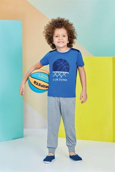 Rolypoly Kısa Kollu Erkek Çocuk Pijama Takımı Rp1205-1-v3