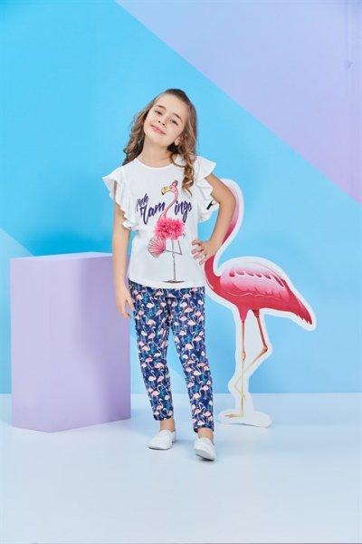 Rolypoly Kısa Kollu Kız Çocuk Pijama Takımı Rp1257-1-v1