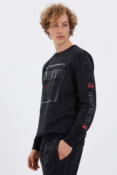 Lf 2022509 Black M Sweatshırt