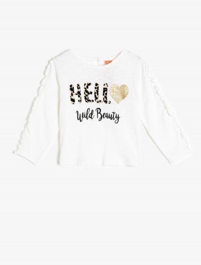 Koton Yazılı Baskılı T-shirt 0kmg19294zk