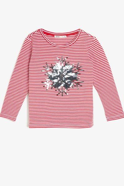 Koton Pul Detaylı T-shirt 0kkg17025ok