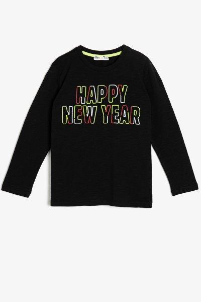 Koton Yazılı Baskılı T-shirt 0kkb16217tk