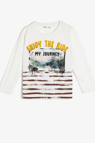Koton Yazılı Baskılı T-shirt 0kkb16282tk