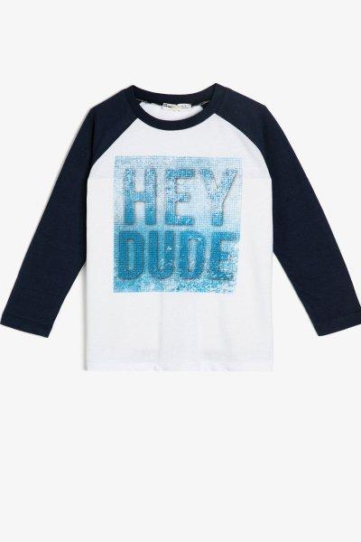 Koton Yazılı Baskılı T-shirt 0kkb16935tk