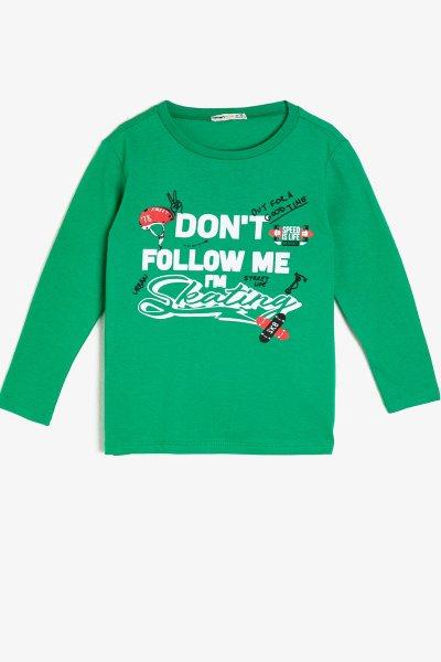 Koton Yazılı Baskılı T-shirt 0kkb16533ok