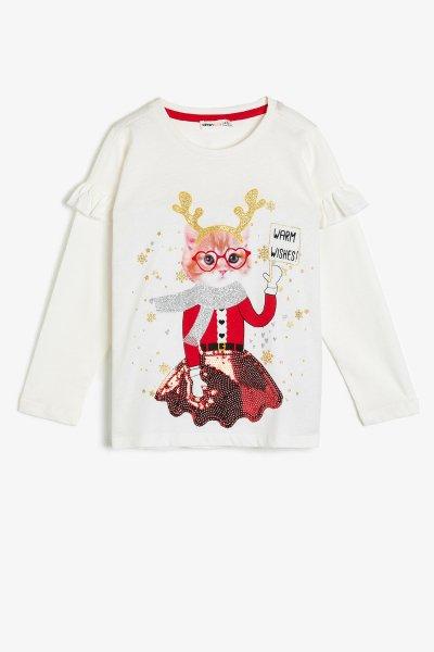 Koton Pul Detaylı T-shirt 0kkg17060ak