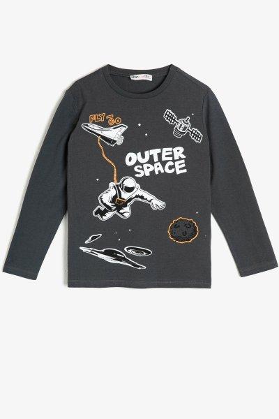 Koton Yazılı Baskılı Sweatshirt 0kkb16979ok