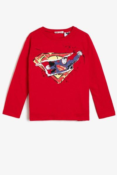 Koton Süperman Lisanslı Baskılı T-shirt 0kkb16972ok